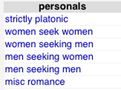 Atlanta craiglist women seeking men