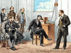 Alexander Graham Bell, typesetter