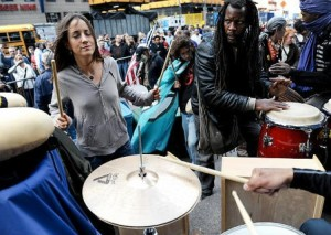 No corporate bongos! Outbreak of capitalism has Occupy Movement policing its own