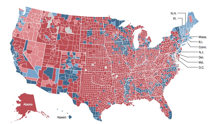 What A Racist Might Say - Us crime map by county