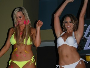 Lady Cats swimsuit fashion show